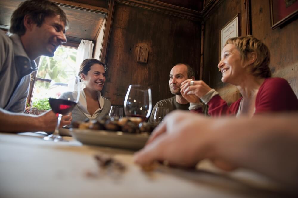Törggelen | Wunderbarer kulinarischer Brauch des Eisacktals