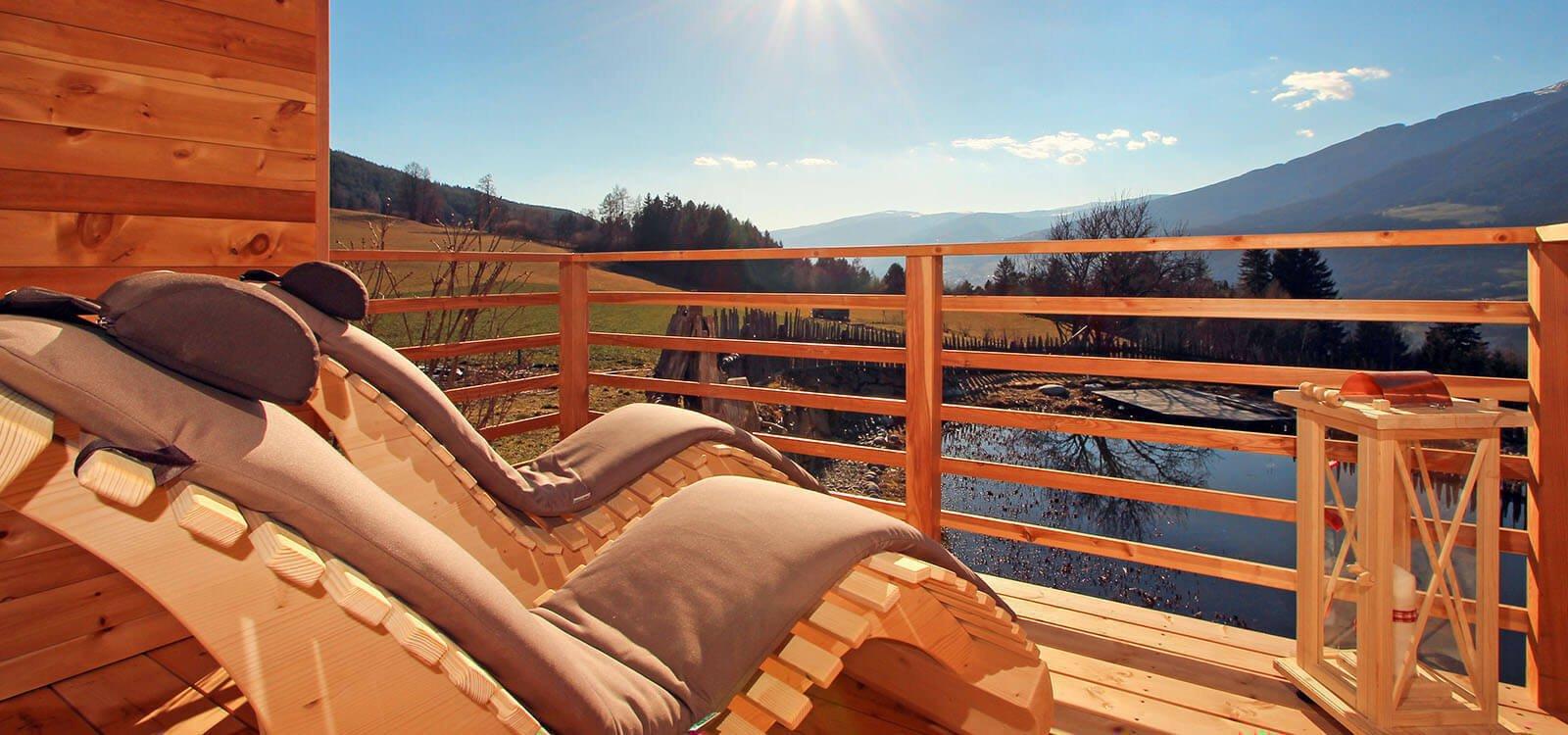 Wellness am Frötscherhof Mellaun | Naturbadeteich - Sauna - Ruheräume
