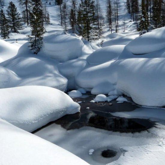 Impressionen vom Frötscherhof Mellaun im Winter