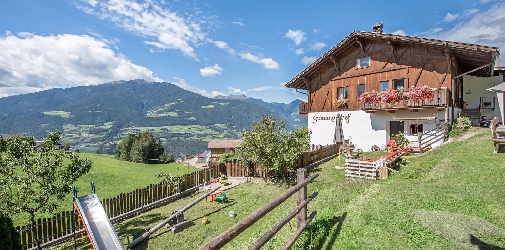 Gemangerhof Mellaun - Urlaub auf dem Bauernhof in Südtirol