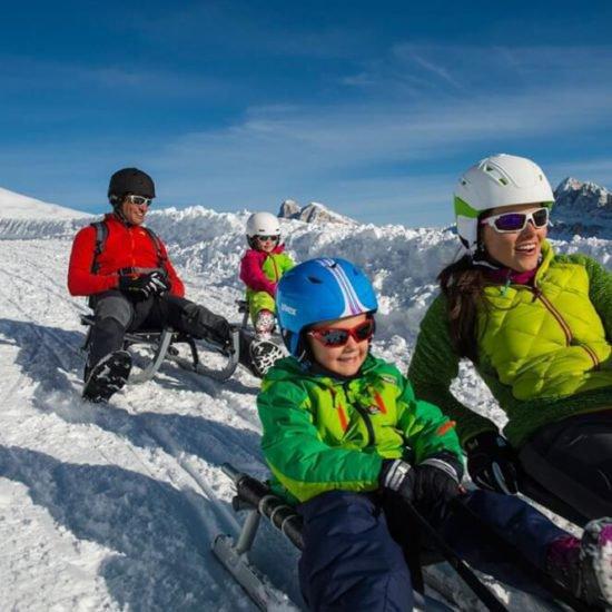 Impressionen vom Gemangerhof Mellaun im Eisacktal im Winter