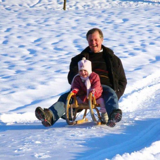 Impressionen vom Schangererhof im Winter