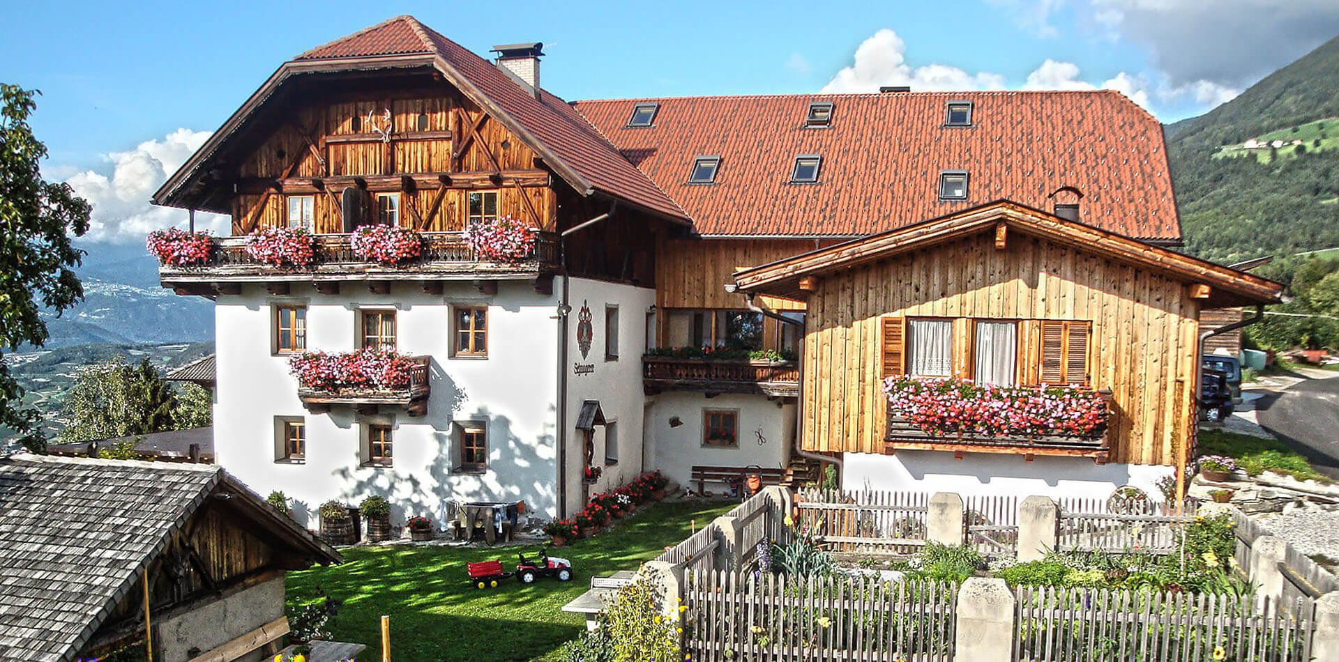 Schnagererhof Mellaun - Urlaub auf dem Bauernhof in Brixen/Südtirol