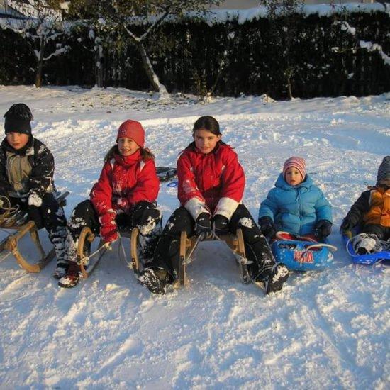 Sedlhof Klerant - Winterferien auf dem Bauernhof - Winterurlaub in den Dolomiten