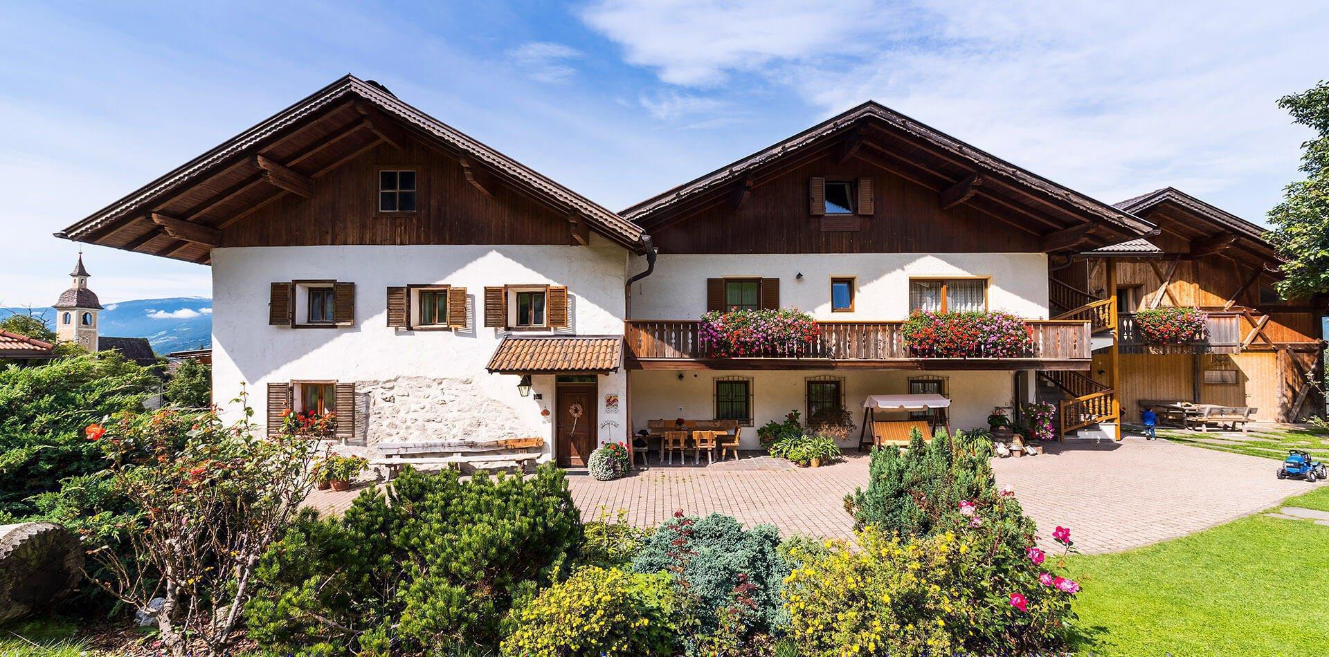 Widmannhof Klerant | Ferienwohnungen in Brixen